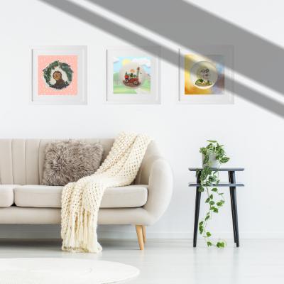 Food Artworks that fits for you living room, dining room, kitchen and many more. Sekar Food Art, Zwolle, Nederland.